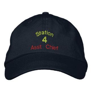 Estación, 4, Asst. Gorra Jefe-Bordado Gorras Bordadas