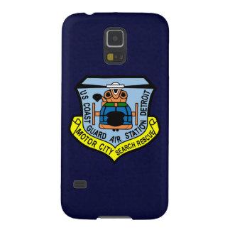 """Estación aérea de guardacostas Detroit """"azules Carcasa Galaxy S5"""