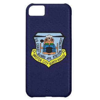 """Estación aérea de guardacostas Detroit """"azules Funda Para iPhone 5C"""