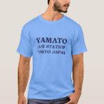 estación aérea Japón de Yamato Playera