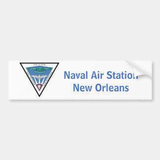 Estación aérea naval - New Orleans Pegatina Para Auto