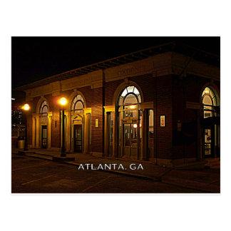 ESTACIÓN - Atlanta, Brookwood, Georgia Tarjetas Postales