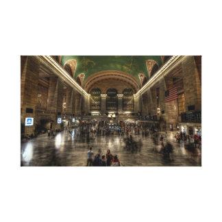 Estación central magnífica lona estirada galerias