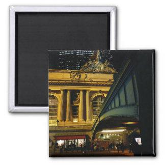 Estación central magnífica - noche - New York City Imán Para Frigorifico