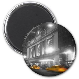 Estación central magnífica Nueva York Imán Redondo 5 Cm