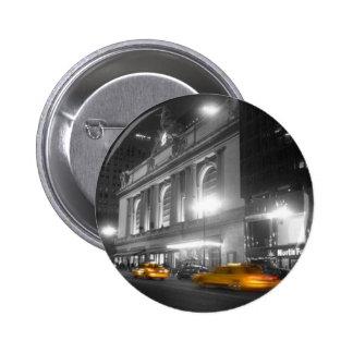 Estación central magnífica Nueva York Pin Redondo 5 Cm