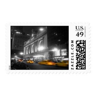 Estación central magnífica Nueva York Sello