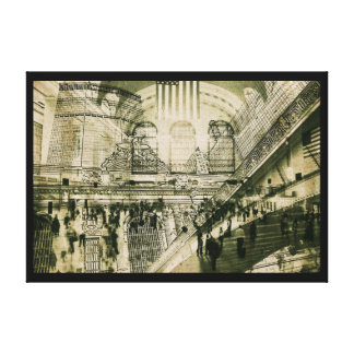 Estación central magnífica, NYC, impresión de la l Impresión En Lona