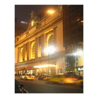 Estación central magnífica, NYC Membretes Personalizados
