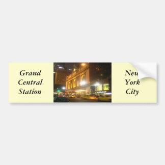 Estación central magnífica, NYC Pegatina Para Auto