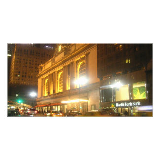 Estación central magnífica, NYC Tarjetas Fotográficas Personalizadas