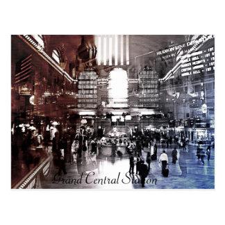 Estación central magnífica, NYC Tarjetas Postales