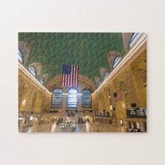 Estación central magnífica, rompecabezas de NYC