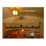 Estación central magnífica tarjeta postal