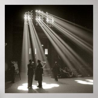 Estación Chicago, 1943 de la unión Impresiones