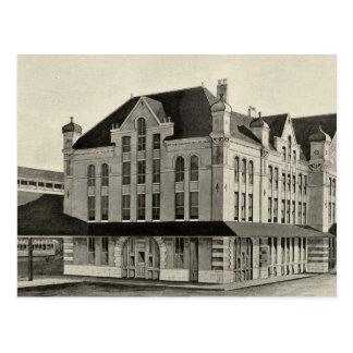 Estación, concordia y ferrocarril de Montreal, con Postal