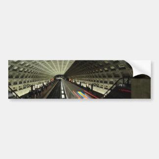 Estación cuadrada de McPherson, metro, Washington, Pegatina Para Auto