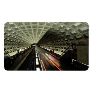 Estación cuadrada de McPherson, metro, Washington, Tarjetas De Visita