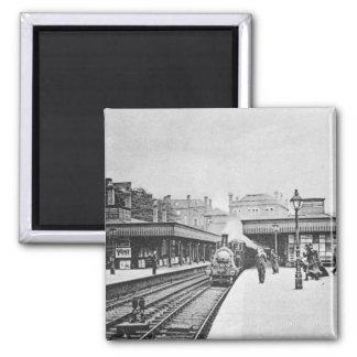Estación de Canonbury, Islington, c.1905 Iman