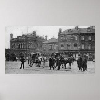 Estación de Canonbury, Islington, c.1905 Póster