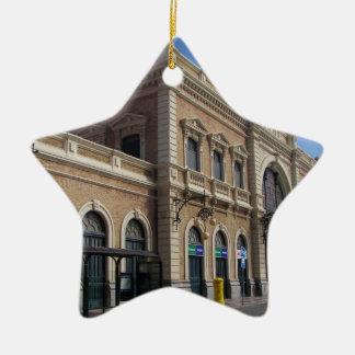 Estación de Cartagena Adorno Navideño De Cerámica En Forma De Estrella