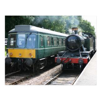 Estación de Crowcombe Heathfield, ferrocarril de Tarjetas Postales