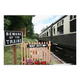 Estación de Crowcombe Heathfield ferrocarril de W Arte Fotografico