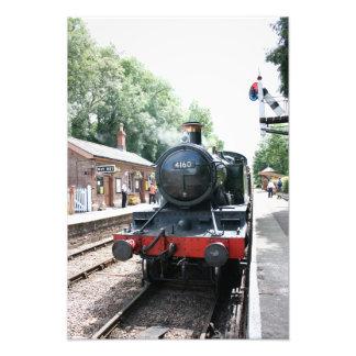 Estación de Crowcombe Heathfield ferrocarril de W Fotografia