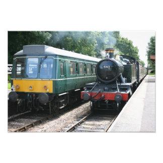 Estación de Crowcombe Heathfield ferrocarril de W Fotografias