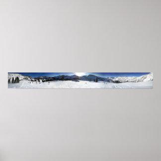 Estación de esquí de Salt Lake City Alta Poster