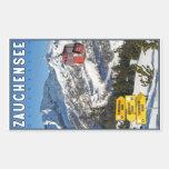 Estación de esquí de Zauchensee Pegatina