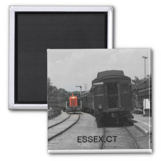 Estación de Essex ct Imán Cuadrado