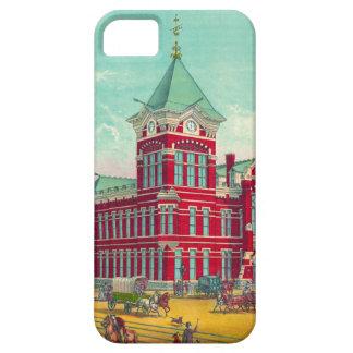 Estación de ferrocarril de Cincinnati 1881 iPhone 5 Carcasa