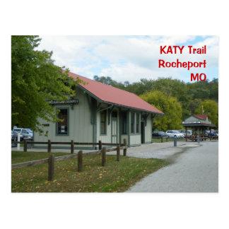 Estación de ferrocarril de Rocheport Postales
