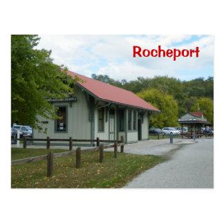 Estación de ferrocarril de Rocheport Tarjeta Postal