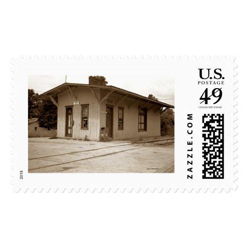 Estación de ferrocarril sellos