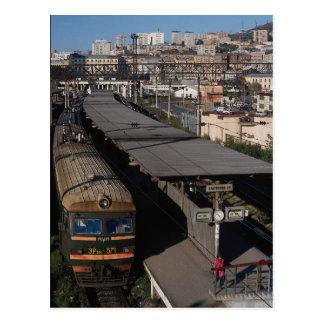 Estación de ferrocarril, Vladivostok, Rusia Tarjetas Postales