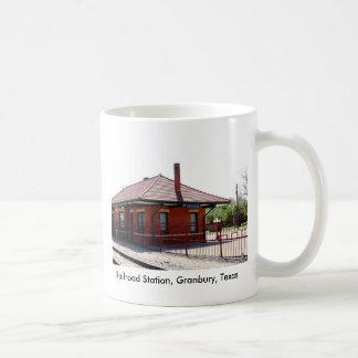 Estación de Granbury RR, estación de ferrocarril, Taza De Café