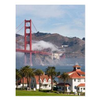 Estación de guardacostas de puente Golden Gate Postal