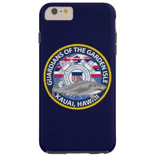 """Estación de guardacostas Kauai Hawaii """"azules Funda Para iPhone 6 Plus Tough"""