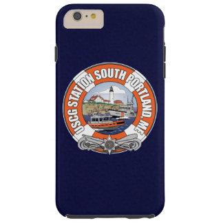 Estación de guardacostas Portland del sur Maine Funda Para iPhone 6 Plus Tough