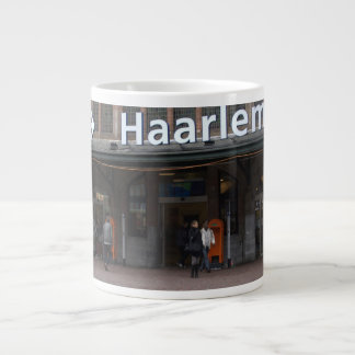 Estación de Haarlem Taza De Café Gigante