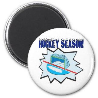 Estación de hockey imán redondo 5 cm