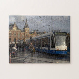 Estación de la central de Amsterdam Puzzle