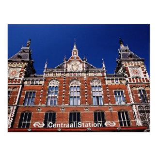 Estación de la central de Amsterdam Postal