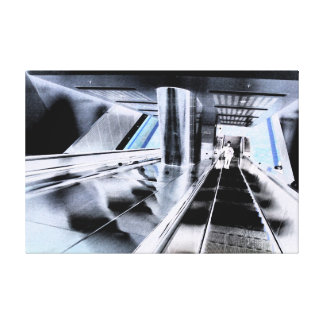 Estación de la central de Melbourne Impresiones En Lienzo Estiradas
