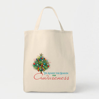 Estación de la conciencia de Navidad de la cinta Bolsas