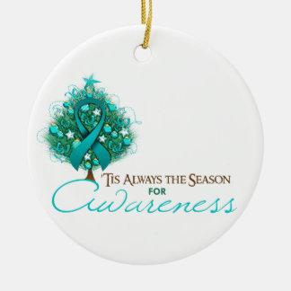 Estación de la conciencia de Navidad de la cinta d Ornaments Para Arbol De Navidad