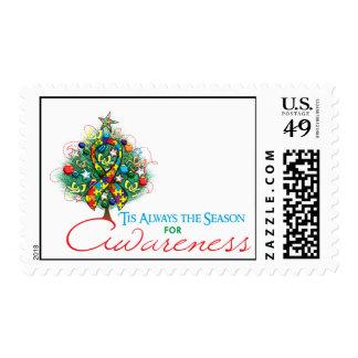 Estación de la conciencia de Navidad de la cinta Franqueo