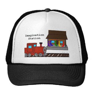 Estación de la imaginación gorros bordados